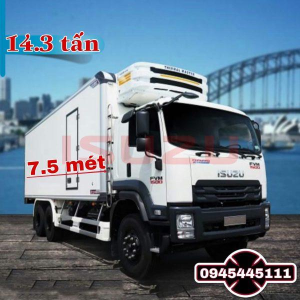xe tai isuzu 14t3 thung dong lanh