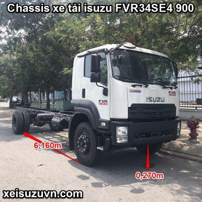 Sắt xi xe Isuzu FVR 900