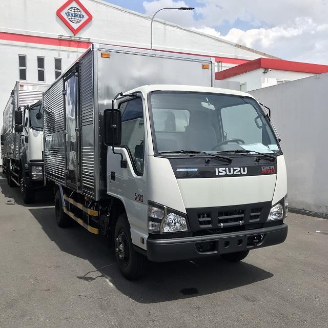Xuất xứ xe tải isuzu thùng kín