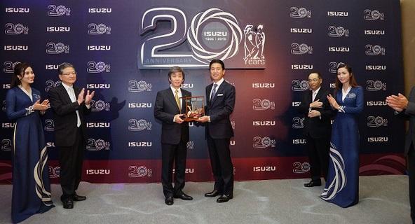 Kỷ niệm 25 năm thành lập ISUZU