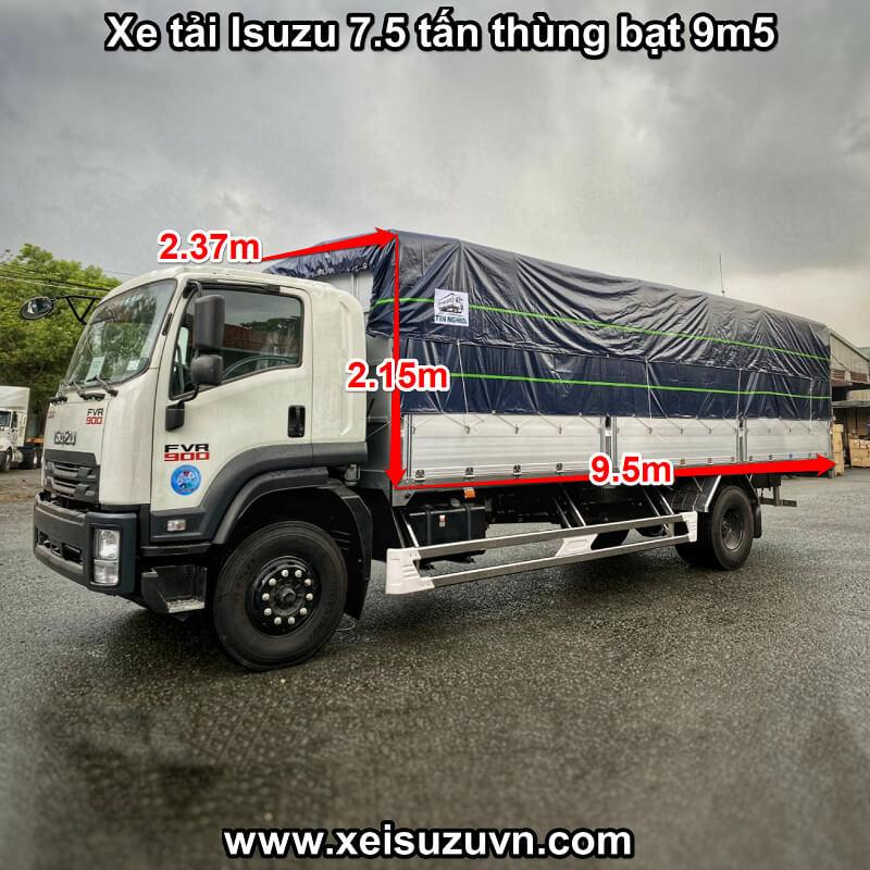 xe tai isuzu 7 5 tan fvr 900 thung bat 9m5 fvr34ue4 mt