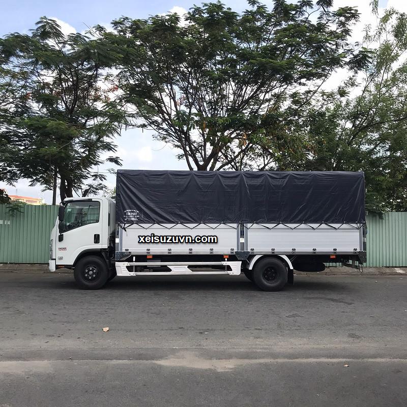xe tai isuzu 5 7 tan thung mui bat 6m1 nqr75me4 mh