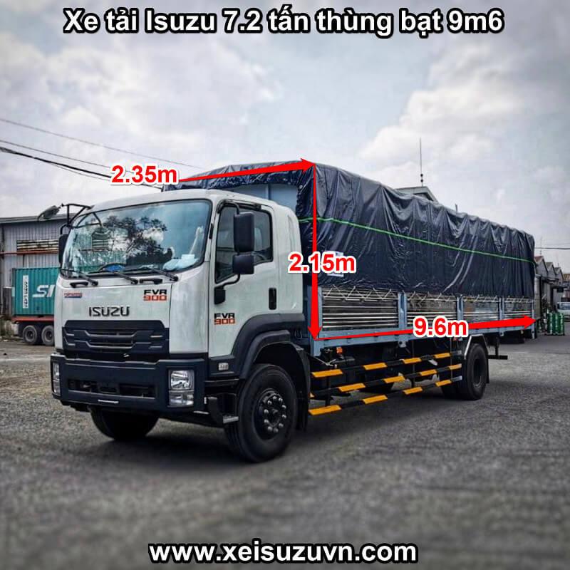 xe tai isuzu 7 2 tan fvr 900 thung bat 9m6 fvr34ue4