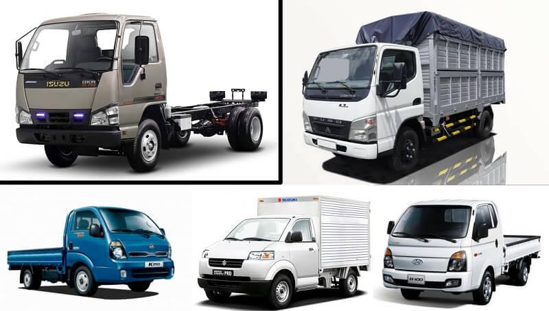 Các hãng xe tải nhỏ tại Việt Nam
