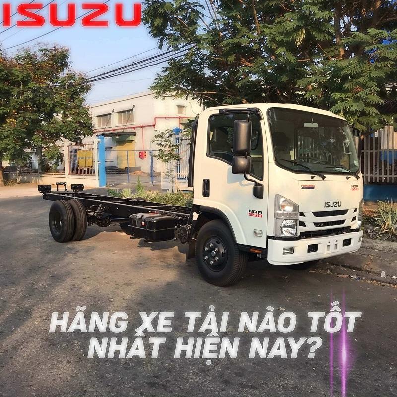 Hãng xe tải nào tốt nhất hiện nay?