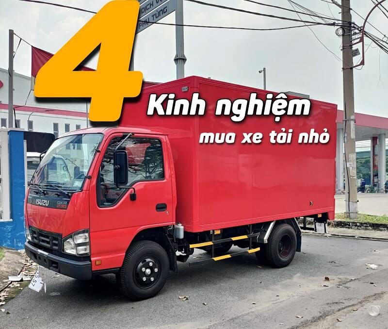 4 Kinh nghiệm mua xe tải nhỏ