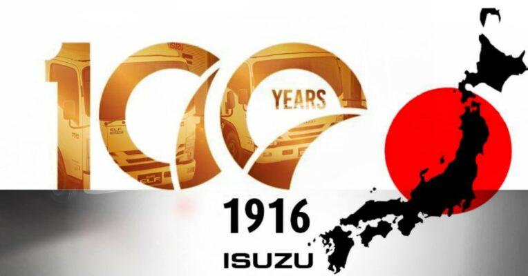 100 năm phát triển thương hiệu xe tải Isuzu