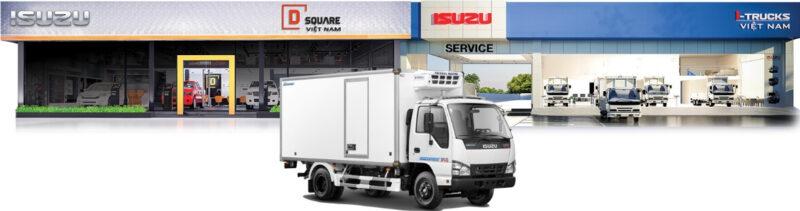 Hãng sản xuất xe tải Isuzu là duy nhất