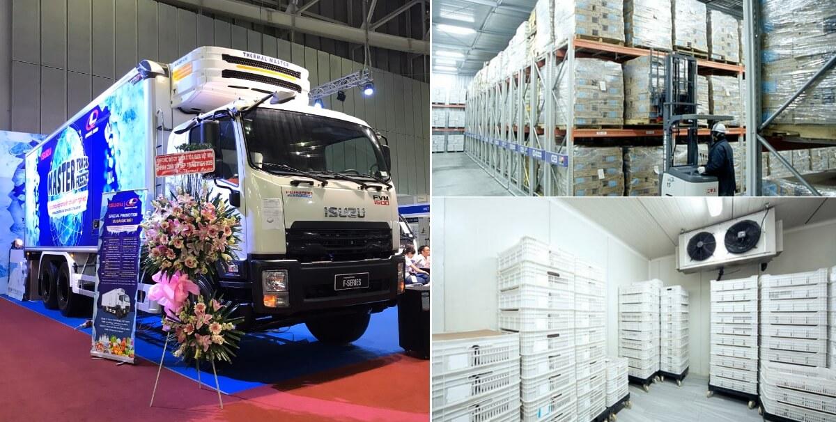 Các sản phẩm xe tải đông lạnh Isuzu nổi bật