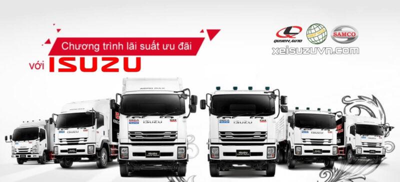 Mua xe tải Isuzu trả góp