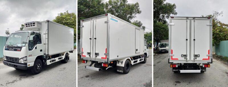 Ra mắt xe tải đông lạnh Isuzu chính hãng