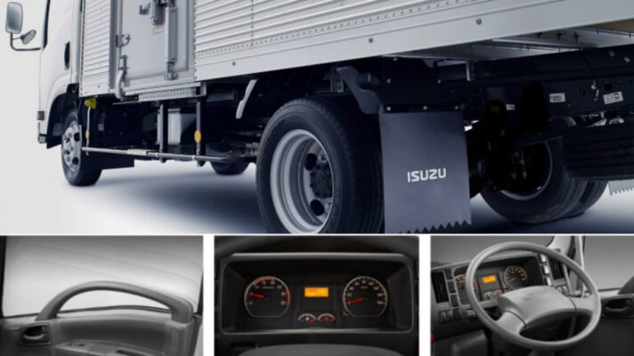 Thiết kế xe tải Isuzu nâng cao trãi nghiệm lái xe