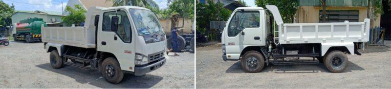 Xe tải ben Isuzu: nâng tầm phát triển nghành xây dựng