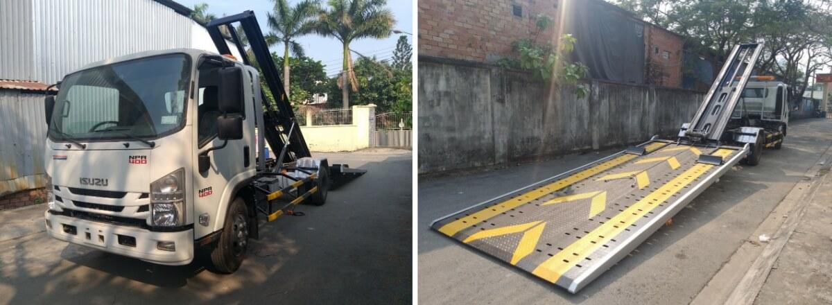 Xe chở xe: cứu hộ giao thông