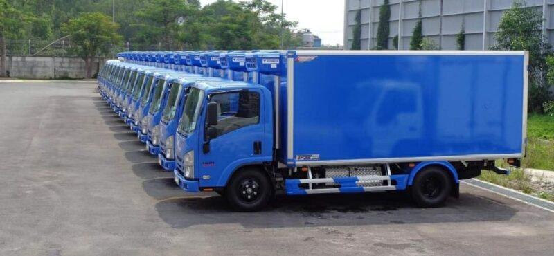 Xe tải Isuzu cỡ trung