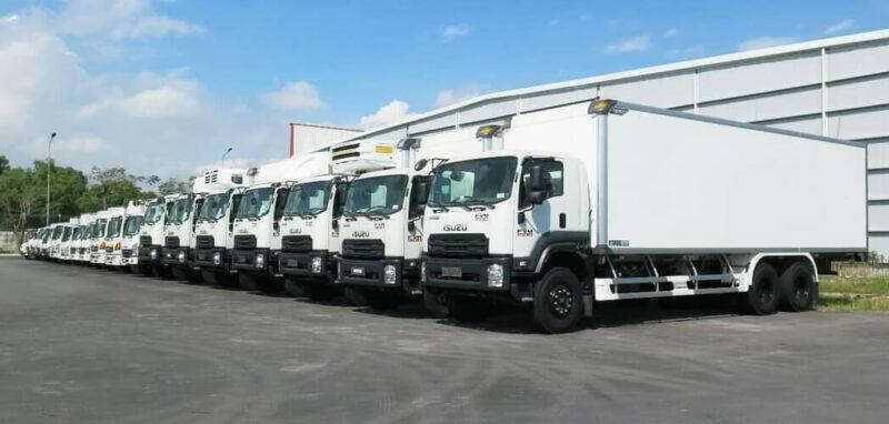 Xe tải nặng Isuzu