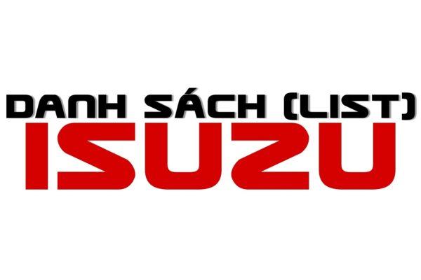 Danh sach dai ly Isuzu